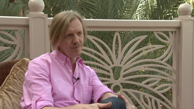 Andrew Adamson on working with James Cameron at the 2012 Dubai International Film Festival Cirque du Soleil Interviews at Koubba Bar on December 11...
