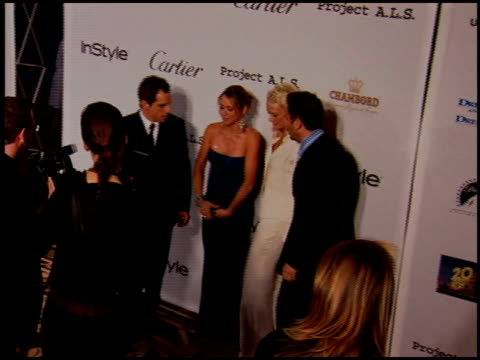 andrew and nancy jarecki at the project als benefit gala at the century plaza hotel in century city, california on may 6, 2005. - century plaza stock videos & royalty-free footage
