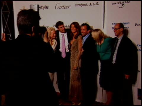 stockvideo's en b-roll-footage met andrew and nancy jarecki at the project als benefit gala at the century plaza hotel in century city, california on may 6, 2005. - century plaza