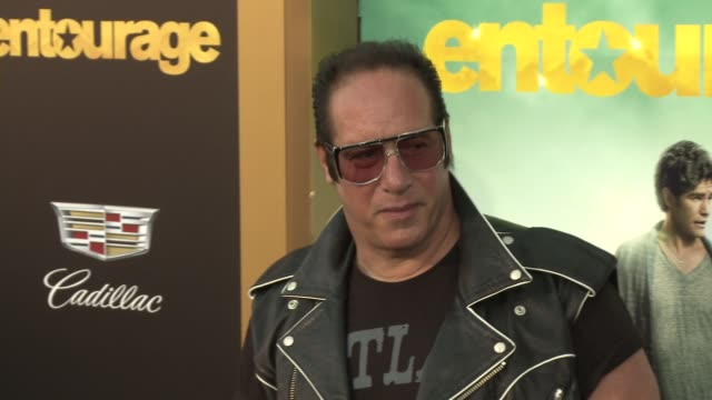 """andrew dice clay at """"entourage"""" los angeles premiere at regency village theatre on june 01, 2015 in westwood, california. - regency village theater stock videos & royalty-free footage"""