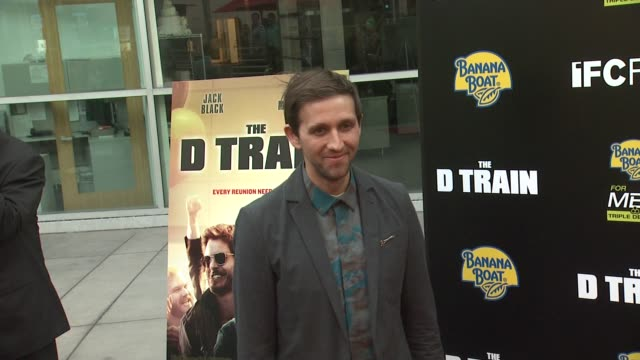 andrew dost at the d train los angeles premiere at arclight cinemas on april 27 2015 in hollywood california - arclight cinemas hollywood stock videos and b-roll footage