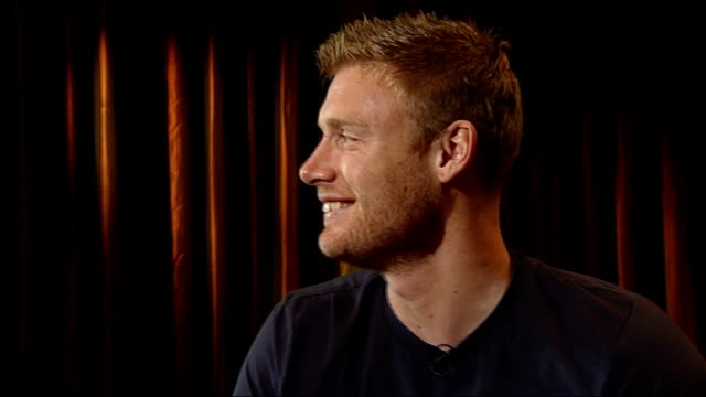 andrew flintoff interview flintoff interview sot to find something that is going to full that void once you've stopped playing cricket is going to be... - in the loop 2009 film stock videos and b-roll footage