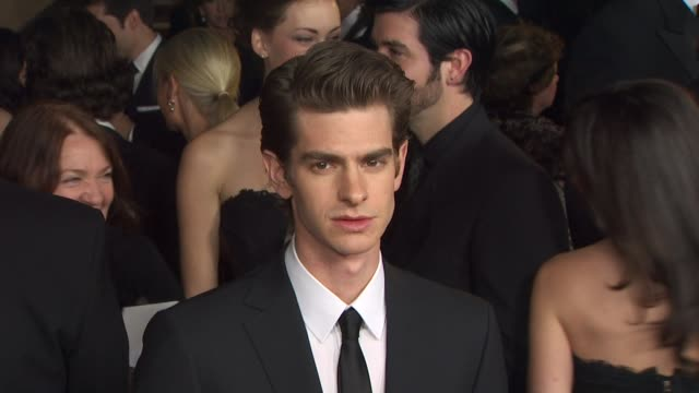 andrew garfield at the 63rd annual directors guild of america awards at hollywood ca. - アメリカ監督組合点の映像素材/bロール