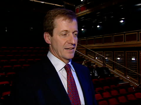 andrew gilligan resigns/greg dyke statement itn cameraman alastair campbell interviewed sot i've answered all questions about that in last few days... - greg dyke stock videos & royalty-free footage