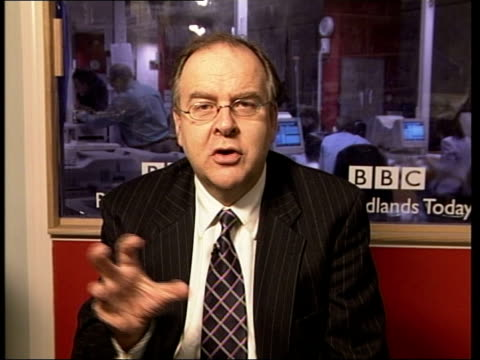 andrew gilligan resigns/greg dyke statement itn england london gir ex london lord falconer interviewed sot no it was not it was inquiry conducted by... - things that go together stock videos & royalty-free footage