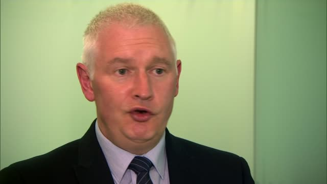 Violence against on police officers ENGLAND Greater Manchester INT Bryn Hughes interview SOT