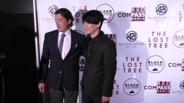 andrew keegan brian metcalf at the 'the lost tree' screening at tcl chinese 6 theatres on october 09 2017 in hollywood california - the lost tree stock videos and b-roll footage