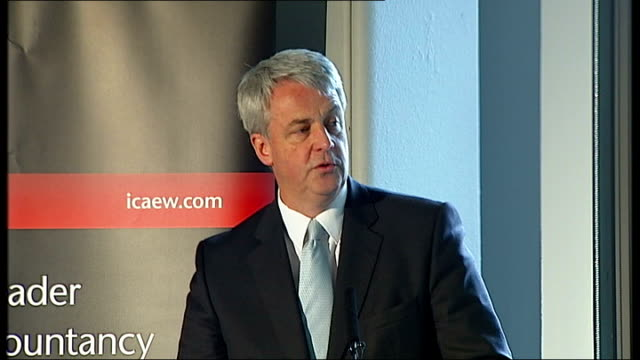 andrew lansley speech; england: london: tower hill: int andrew lansley mp speech sot - i am proud, in my eight years as conservative health... - the world's end stock videos & royalty-free footage