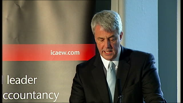 andrew lansley speech lansley speech sot when problems finally burst out into the open they are usually so serious that the public asks rightly why... - learning disability services stock videos & royalty-free footage