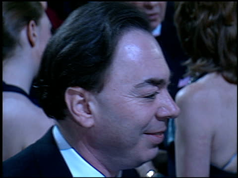 andrew lloyd webber at the 'evita' premiere at the shrine auditorium in los angeles, california on december 14, 1996. - shrine auditorium stock videos & royalty-free footage