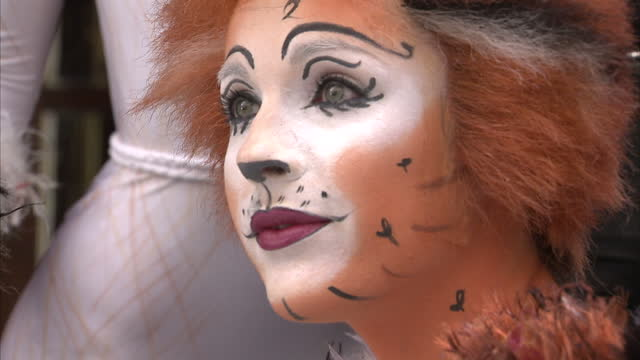andrew lloyd webber trevor nunn gillian lynne and john napier invite you to the launch of cats let the memory live again shows exterior shots of... - andrew lloyd webber stock videos and b-roll footage