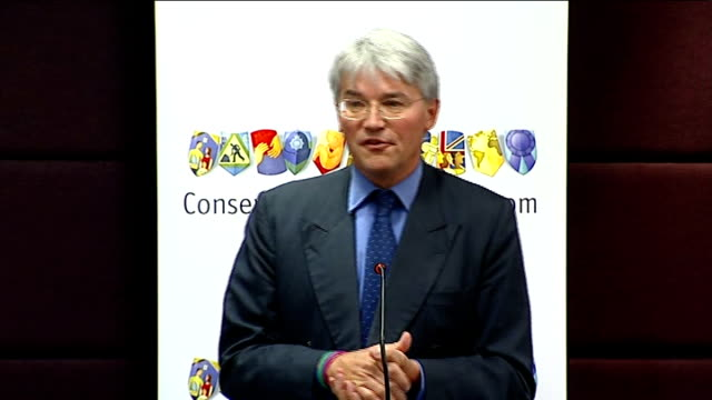 london commonwealth club int andrew mitchell mp speech sot good morning / thank you very much for kind introduction / tim has been very good friend... - pelvi video stock e b–roll
