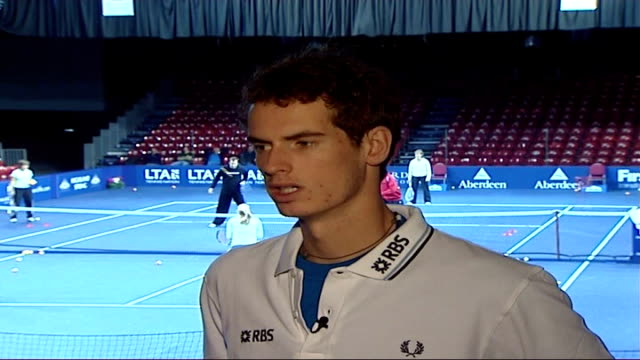 Andrew Murray sponsorship deal Andy Murray interview SOT Coach Brad Gilbert has helped me a lot