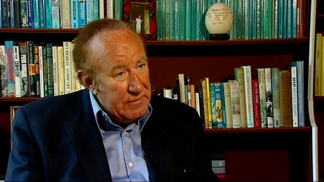 andrew neil interview sot - andrew neil stock videos & royalty-free footage