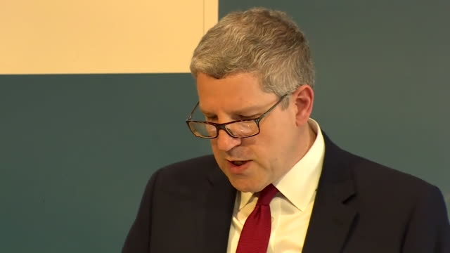 Andrew Parker Head of MI5 stating that MI5 have thwarted twelve Islamist terror attacks in the UK in the past year at a press conference in Berlin...