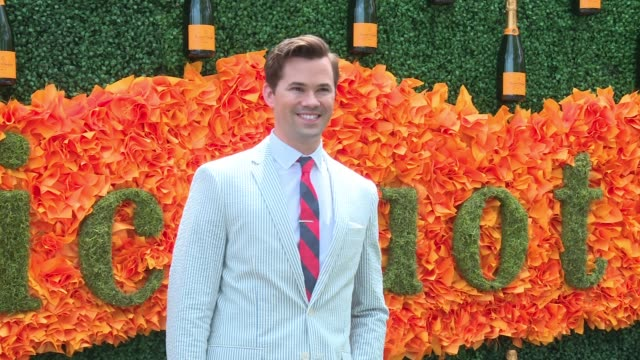 Andrew Rannells at NinthAnnual Veuve Clicquot Polo Classic at Liberty State Park on June 4 2016 in Jersey City New Jersey