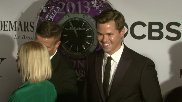 Andrew Rannells at The 67th Annual Tony Awards Arrivals at Radio City Music Hall on June 09 2013 in New York New York