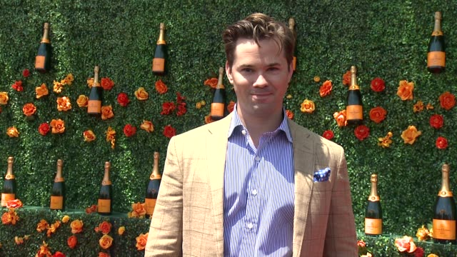 Andrew Rannells at Veuve Clicquot Polo Classic 2015 at Liberty State Park on May 30 2015 in Jersey City New Jersey