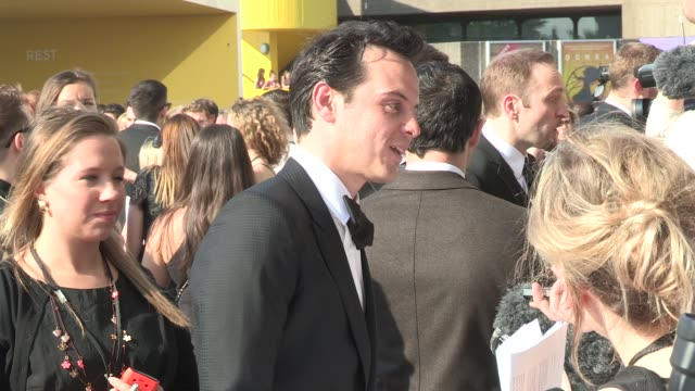 Andrew Scott at Arqiva British Academy Television Awards at The National Theatre on May 27 2012 in London England