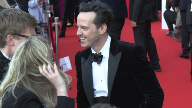 andrew scott at the royal festival hall on may 12 2019 in london england - british academy television awards stock videos & royalty-free footage