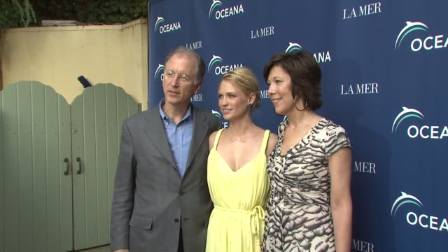 andrew sharpless january jones maureen case at the oceana la mer celebrates world oceans day at los angeles ca - january jones stock videos & royalty-free footage
