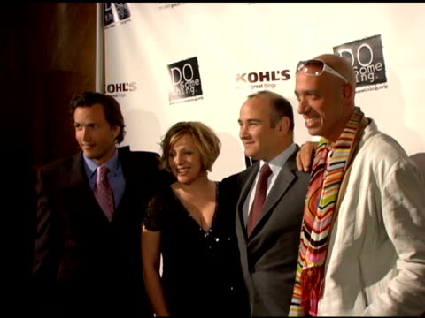 andrew shue and guests at the 2006 brick awards from do something in celebration of young social entrepreneurs and celebrity and corporate... - do something organization stock videos & royalty-free footage