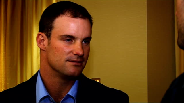 Andrew Strauss interview at book launch Andrew Strauss interview continues SOT On being away from home over Christmas / travelling a lot with the...