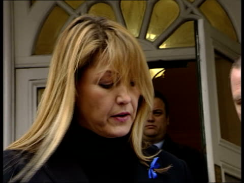 andrew wragg walks free from court after killing terminally ill son mary wragg speaking to press sot jacob's condition has been used as an excuse for... - after life stock videos & royalty-free footage
