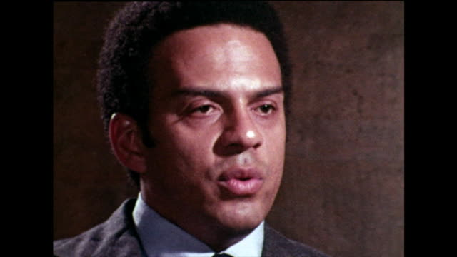 """andrew young believes that the negative connotations behind """"black power"""" slogan was down to misinterpretation, and it was seen as a threat rather... - strength stock videos & royalty-free footage"""