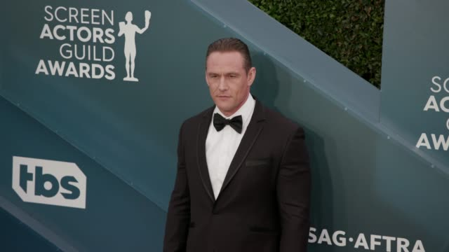 andrey ivchenko at the 26th annual screen actors guild awards arrivals at the shrine auditorium on january 19 2020 in los angeles california - shrine auditorium stock videos & royalty-free footage