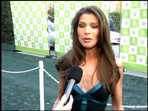 andrienne janic at the environmental media awards at wilshire ebell theatre in los angeles, california on october 1, 2005. - environmental media awards stock-videos und b-roll-filmmaterial