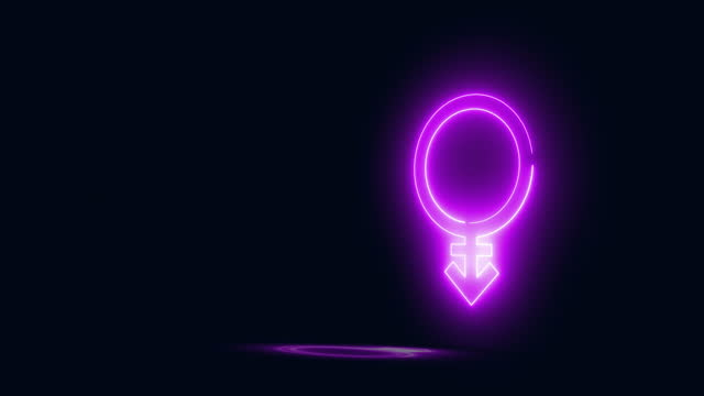 androgynous - gender symbol stock videos & royalty-free footage