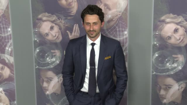 vídeos de stock, filmes e b-roll de andy bean at the hbo's here and now premiere at directors guild of america on february 05 2018 in los angeles california - director's guild of america