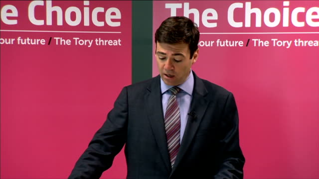 london int andy burnham mp speech sot **speech transcript please check against delivery** when people look back this could turn out to be no ordinary... - darlington north east england stock videos & royalty-free footage