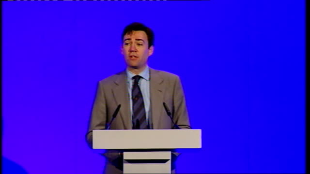 andy burnham speech to the nhs chief executives conference england london queen elizabeth ii conference centre int andy burnham mp along to podium... - self improvement stock videos and b-roll footage