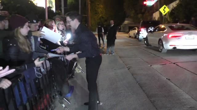 andy carey outside the entertainment weekly prescreen actors guild awards party at chateau marmont in los angeles at celebrity sightings in los... - entertainment weekly stock videos & royalty-free footage