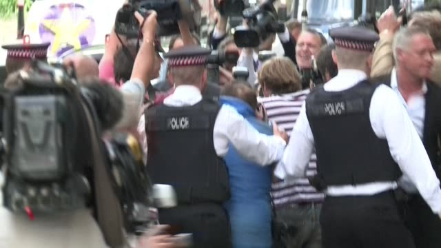 andy coulson a former top aide to british prime minister david cameron was jailed for 18 months on friday for his role in the phone hacking scandal... - andy coulson stock videos & royalty-free footage