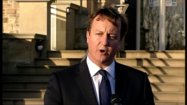 andy coulson and rebekah brooks face further charges northern ireland belfast david cameron mp speaking to press sot i've made it clear my regret on... - andy coulson stock videos & royalty-free footage