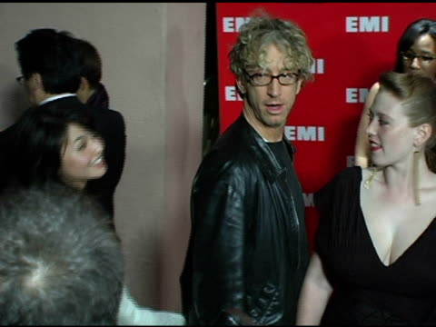 vídeos de stock, filmes e b-roll de andy dick and guest at the emi postgrammy awards bash at the beverly hilton in beverly hills california on february 13 2005 - andy dick