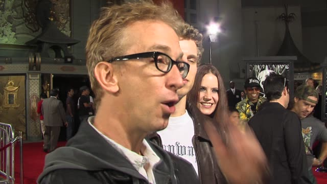 vídeos de stock, filmes e b-roll de andy dick and his son lucas at the jackass number two premiere arrivals at grauman's chinese theatre in hollywood california on september 21 2006 - andy dick