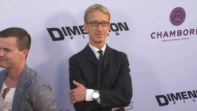 vídeos de stock, filmes e b-roll de andy dick at scary movie v los angeles premiere 4/11/2013 in hollywood ca - andy dick