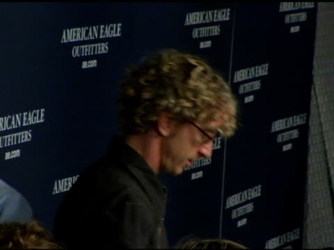 andy dick at the back to school tailgate party arrivals by american eagle outfitters at hollywood lot in hollywood california on august 24 2004 - american eagle outfitters stock videos & royalty-free footage