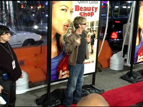 andy dick at the 'beauty shop' world premiere at the mann national theatre in westwood california on march 24 2005 - mann national theater stock videos and b-roll footage