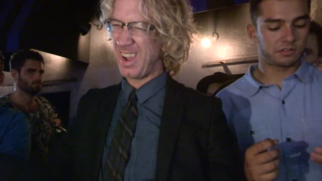 vídeos de stock, filmes e b-roll de andy dick at warwick in hollywood at celebrity sightings in los angeles on may 21 2014 in los angeles california - andy dick