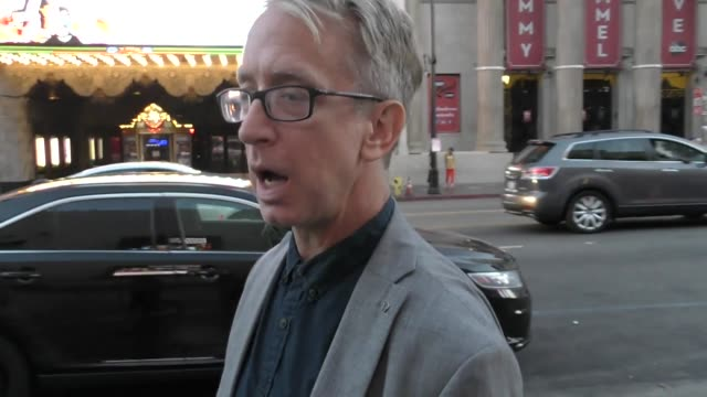 vídeos de stock, filmes e b-roll de andy dick outside the it premiere at tcl chinese theatre in hollywood in celebrity sightings in los angeles - andy dick
