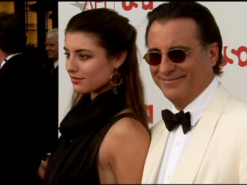Andy Garcia and daughter Dominique Garcia at the 34th AFI Life Achievement Award A Tribute To Sean Connery at the Kodak Theatre in Hollywood...