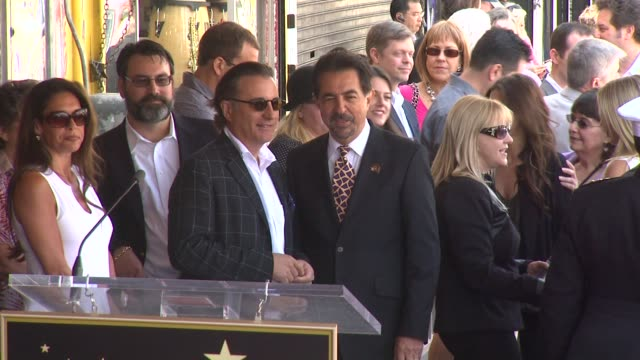 Andy Garcia and Joe Mantegna at the Joe Mantegna Honored with a Star on the Hollywood Walk of Fame at Hollywood CA