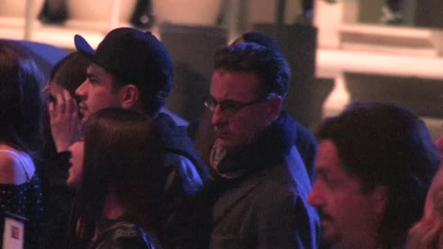 Andy Garcia arrives at Staples Center in Los Angeles 01/25/12 in Celebrity Sightings in Los Angeles