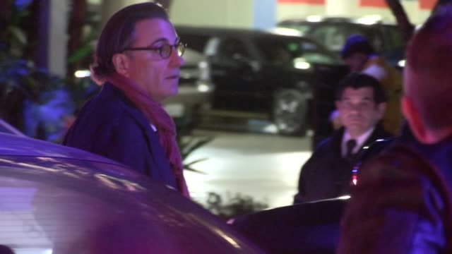 Andy Garcia arrives at Staples Center in Los Angeles 02/28/13