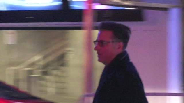 Andy Garcia arrives at Staples Center in Los Angeles on